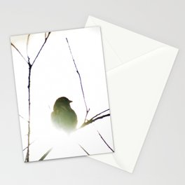 The golden sparrow Stationery Cards