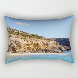 In the grotto Rectangular Pillow