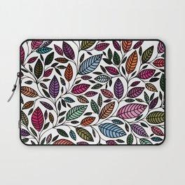 Floral Leaf Illustration *P07 002 Laptop Sleeve