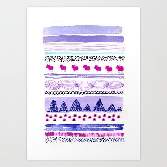 Pattern / Nr. 6 Art Print