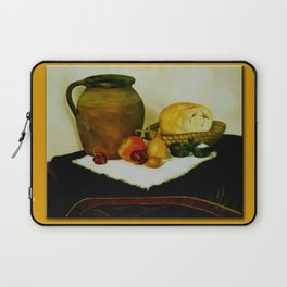 Bread and wine Laptop Sleeve