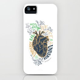 The Universe Is Us. iPhone Case