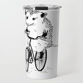 Opossums bike, too Travel Mug