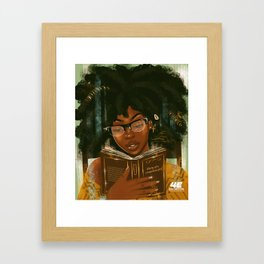 Lecture et relaxation Framed Art Print