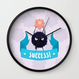 Susuwatari Success! Wall Clock