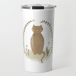 Nature Cat Travel Mug
