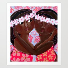 Feeling Loved Art Print