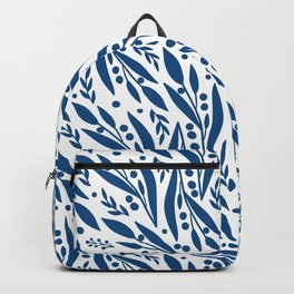 Blue twigs Backpack