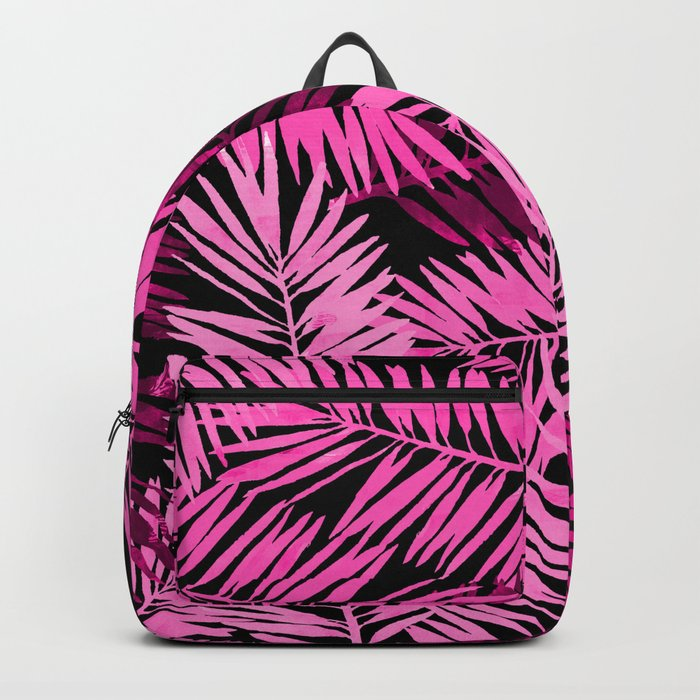 Tropical Palm Leaves IV Backpack