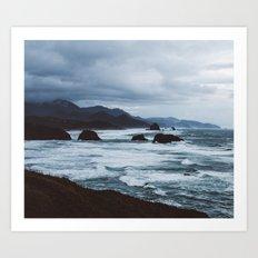 cannon beach overlook Art Print