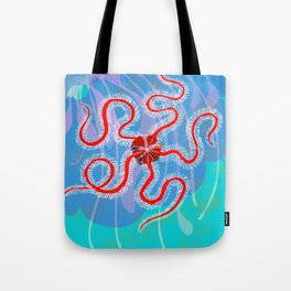 Bright-eyed and Bristle-armed Tote Bag
