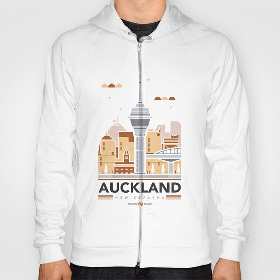 City Illustrations (Auckland, New Zealand) Hoody