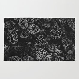 The Plant (Black and White) Rug