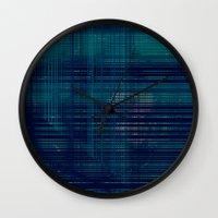 moss Wall Clocks featuring MOSS by Mike Maike