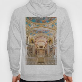 The Magnificent Admont Abbey Library of Admont, Austria Photograph Hoody