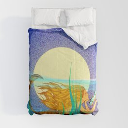 Mermaid with Fish Comforters
