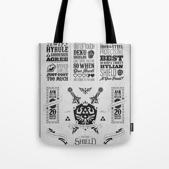 Legend of Zelda - The Hylian Shield Foundry Tote Bag