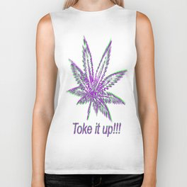Toke It Up Biker Tank