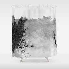 step into my dreams Shower Curtain