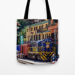 Peru Rail Train - Aguas Calientes Tote Bag
