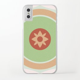 Red green Clear iPhone Case