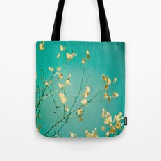 Sweet Little Autumn Leaves Tote Bag