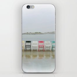chair family iPhone Skin