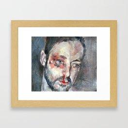 Portrait Study  Framed Art Print