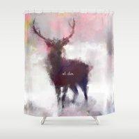 Oh deer Shower Curtain