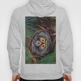 Baby Birds in Nest Hoody