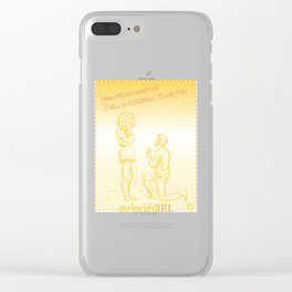 A Realistic Proposal (AwkwardIRL #12) Clear iPhone Case