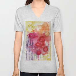 Blooming Beauty Unisex V-Neck
