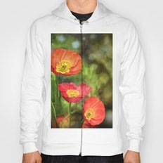 Little red poppies Hoody