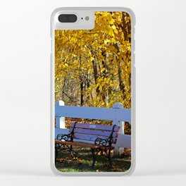 Unforgettable Moments Clear iPhone Case