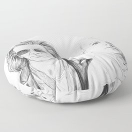 Crowley and Aziraphale Floor Pillow