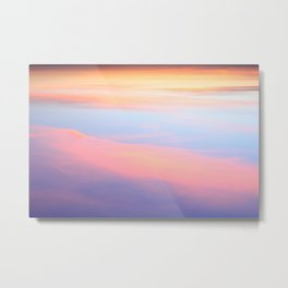 My Candyfloss Sky Metal Print