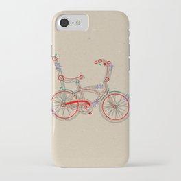 Aztec Bicycle iPhone Case