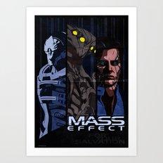 Mass Effect: antagonists Art Print