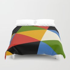 Triangle Pattern Duvet Cover