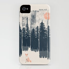 A Fox in the Wild... iPhone Case