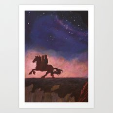 The Scorpio Races Art Print