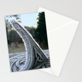 Sundial Frost Stationery Cards