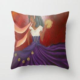Esmeralda  Throw Pillow