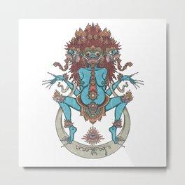 DURGA Metal Print