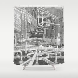 Frackpool 01 Shower Curtain