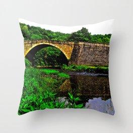Casselman Bridge Throw Pillow
