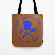 Coal Pirate Tote Bag