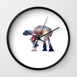 Cosmic Walker Wall Clock