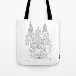 Cathedral of Santiago De Compostela Tote Bag