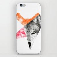 eric fan iPhone & iPod Skins featuring Wild by Eric Fan & Garima Dhawan by Garima Dhawan